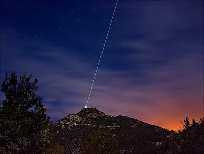 Laser produce estrellas