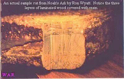 Madera del arca de Noé