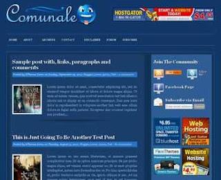 Comunale Blogger Template