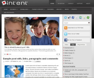 Intent Blogger Template