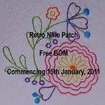 Retro Nine Patch Free BOM -