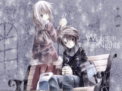 anime boy in love. anime boy and girl in love.