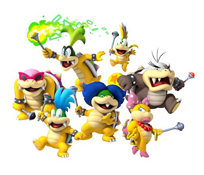 Club de Bob Esponja Koopalings