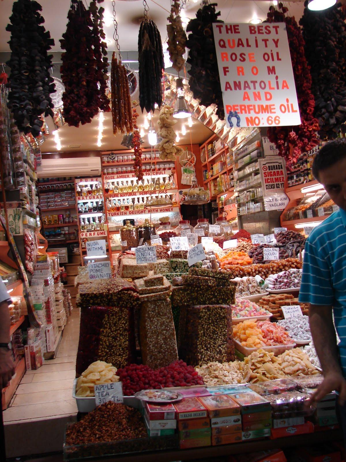 Travel Memories: Egyptian Market (Spice Bazaar) -Mısır Çarşısı