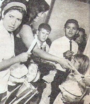 Union de de curacao, bonaire, aruba/ trinidad y tobago a Venezuela - Página 3 Ni%C3%B1os+Refugiados+del+Rupununi-Enero+de+1969