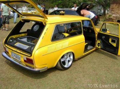 variant amarela veiculo