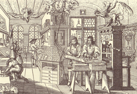 an analysis of gutenbergs press and the transition from medieval to modern Mass production of printed works flourished after the transition to  besitzt gutenbergs erfindung  spread of the gutenberg press germany modern stamp .
