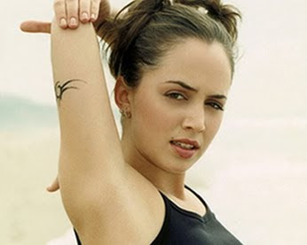Eliza Dushku Tattoo Images