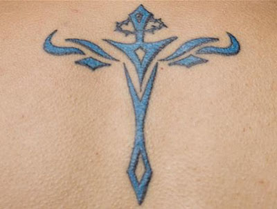 image of Miami ink Cross tattoo