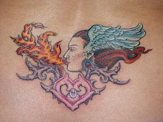 picture of lower back tattoo