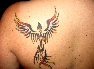 Best Tattoo Designs With Tribal Tattoos Pictures Specially Tribal Phoenix Tattoo Designs Gallery Image