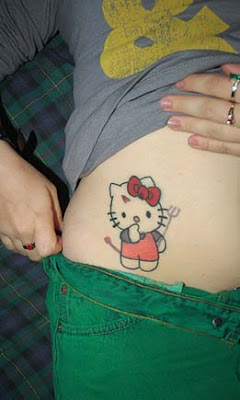 hello kitty tattoo pictures