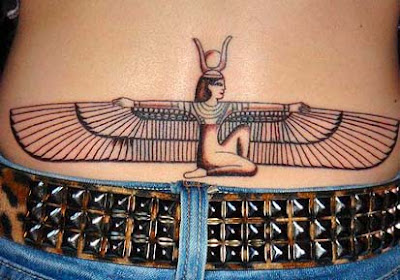 egyptian religious tattoos