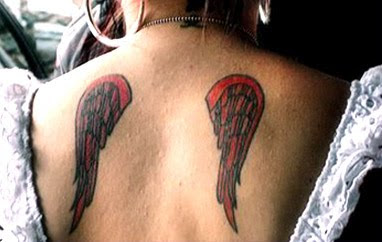 fallen angel tattoo designs