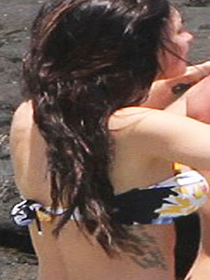 megan fox new tattoo 2010