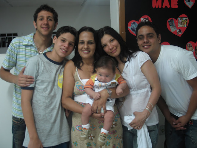minha linda família q amo demais!!!