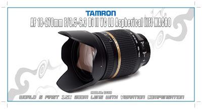 TAMRON AF 18-270mm F/3.5-5.6 Di II VC LD Aspherical [IF] MACRO