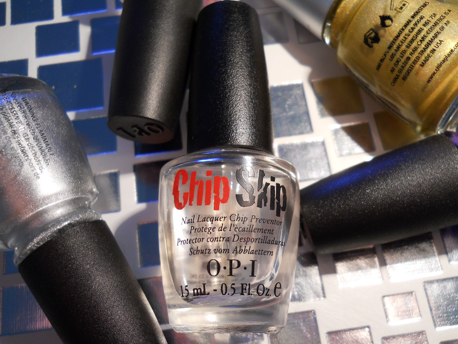 All Polished: Product Review: OPI Chip Skip