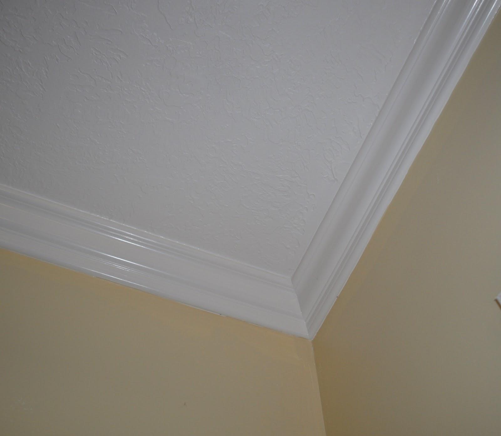 paint ideas for popcorn ceiling - La Vie Quoti nne A Notch Up the ceiling