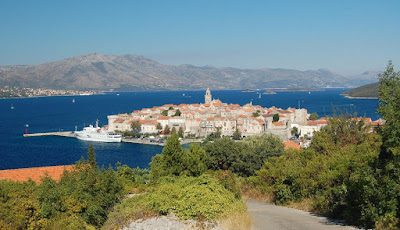 The town of Korčula