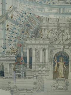 Un projet pour un bâtiment de l'Exposition de 1900