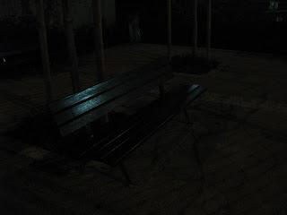 Un banc du jardin Villemin