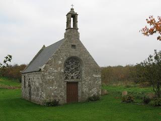 Chapelle de Troménec, près de Landéda