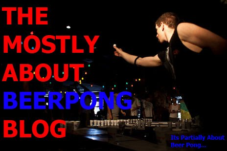 The Mostly About Beer Pong Blog