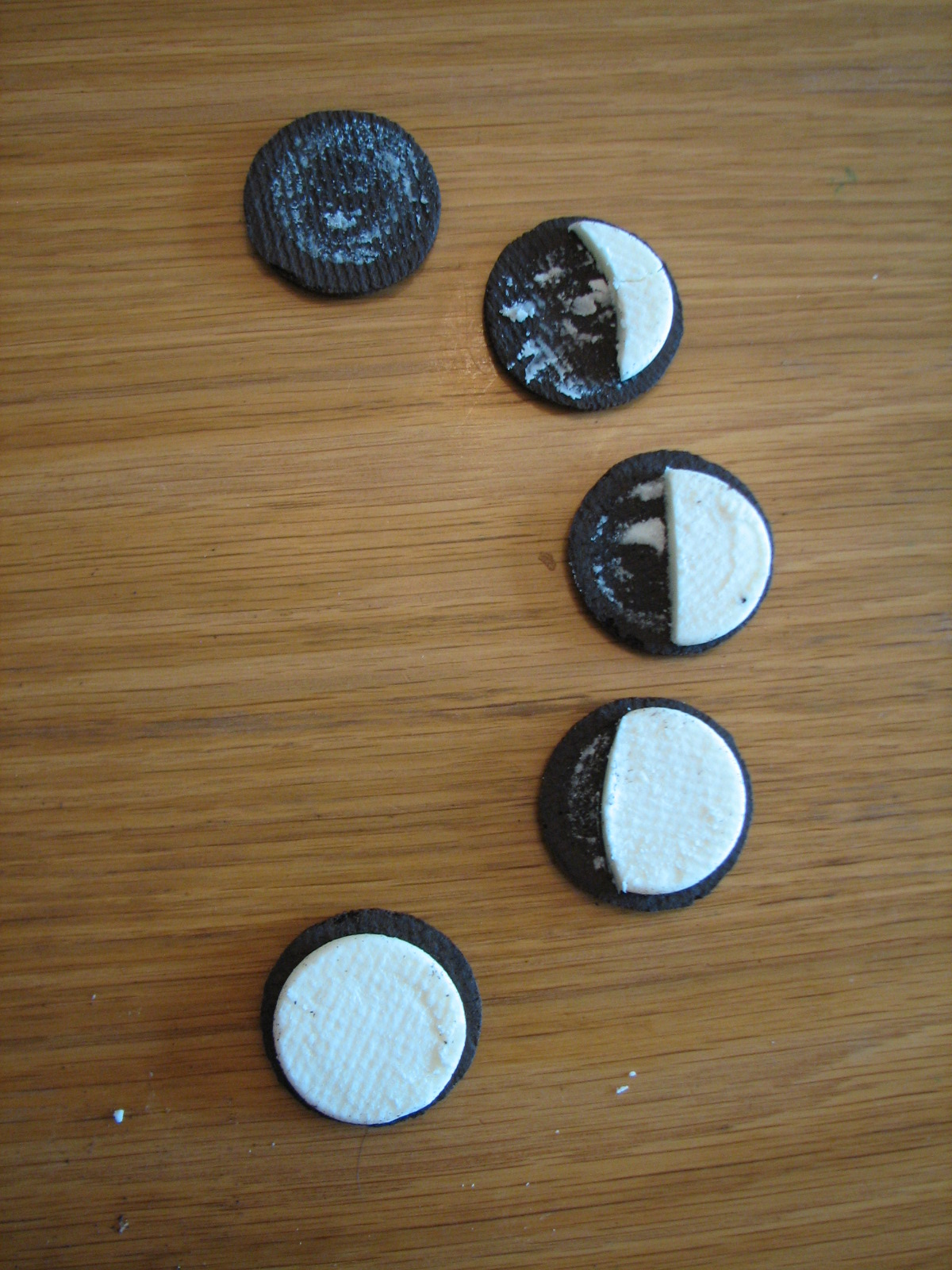 ... Ideas for a Split Class: My Answer to the Double-Stuff Oreo Question