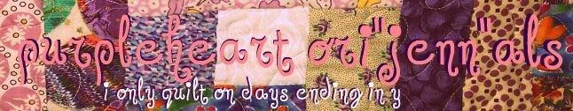 """Purpleheart Ori""""Jenn""""als"""