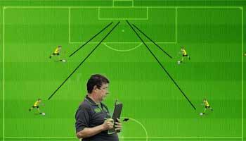 Bola diagonal com joel no bola soccer