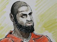 Sketch of Talib Abu Salam Ibn Shareef / Derrick Shareef