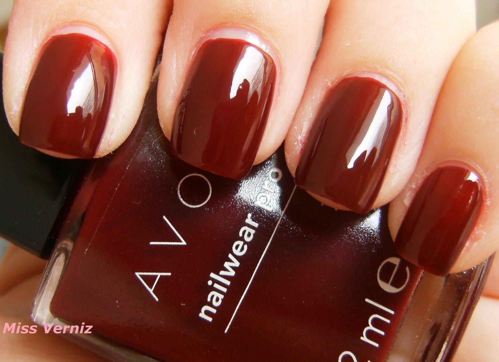 Uñas, manos y pies (dudas y uñas del día) - Página 2 Avon+NailWear+Pro+Cherry+Jubilee+-+7