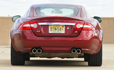 2010 Jaguar XKR Rear View