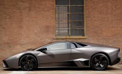 2010 Lamborghini Reventón Roadster Side View