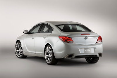 2010 Buick Regal GS Concept Rear Angle View
