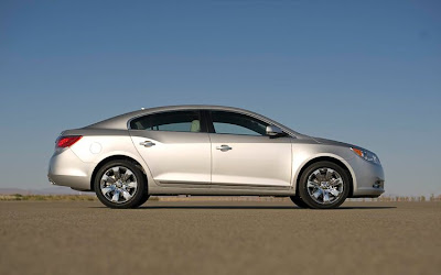 2010 Buick Regal GS Concept Side View