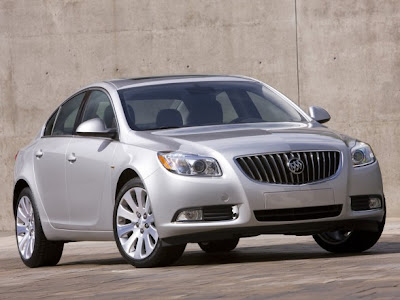 2010 Buick Regal GS Concept Front Angle View