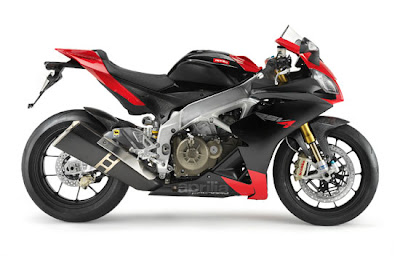 2010 Aprilia RSV4 Factory Side View