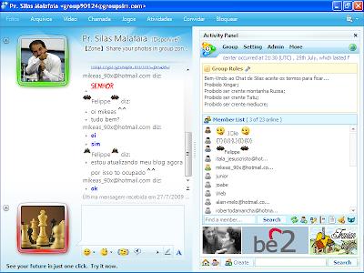 Silas chatrooms