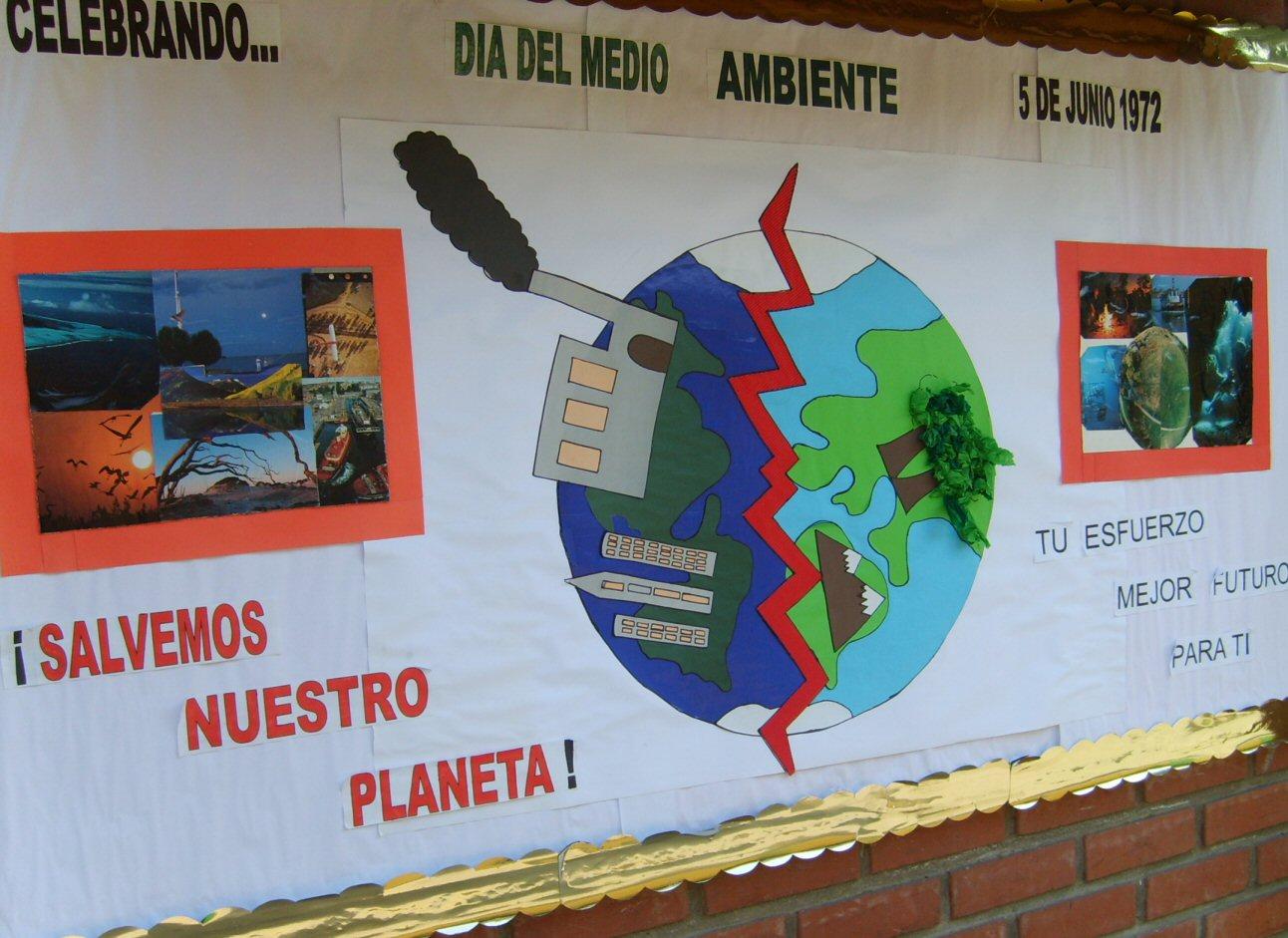 Forjadores ambientales de quilpu d a del medio ambiente for Mural sobre o meio ambiente
