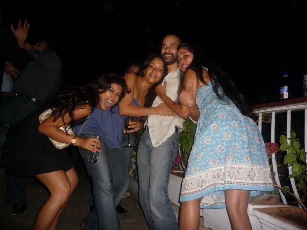 Actress Reema sen & Shreya in Private party