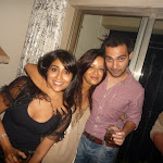 Shriya & Reema Sen spotted at some private party