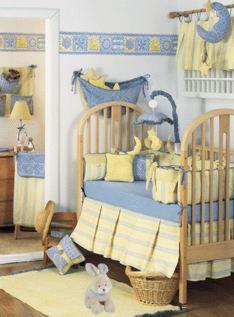 la decoracin de la habitacin de beb no implica solamente los muros el techo y el piso el nio tendr una cama y por ende sbanas y cobertores