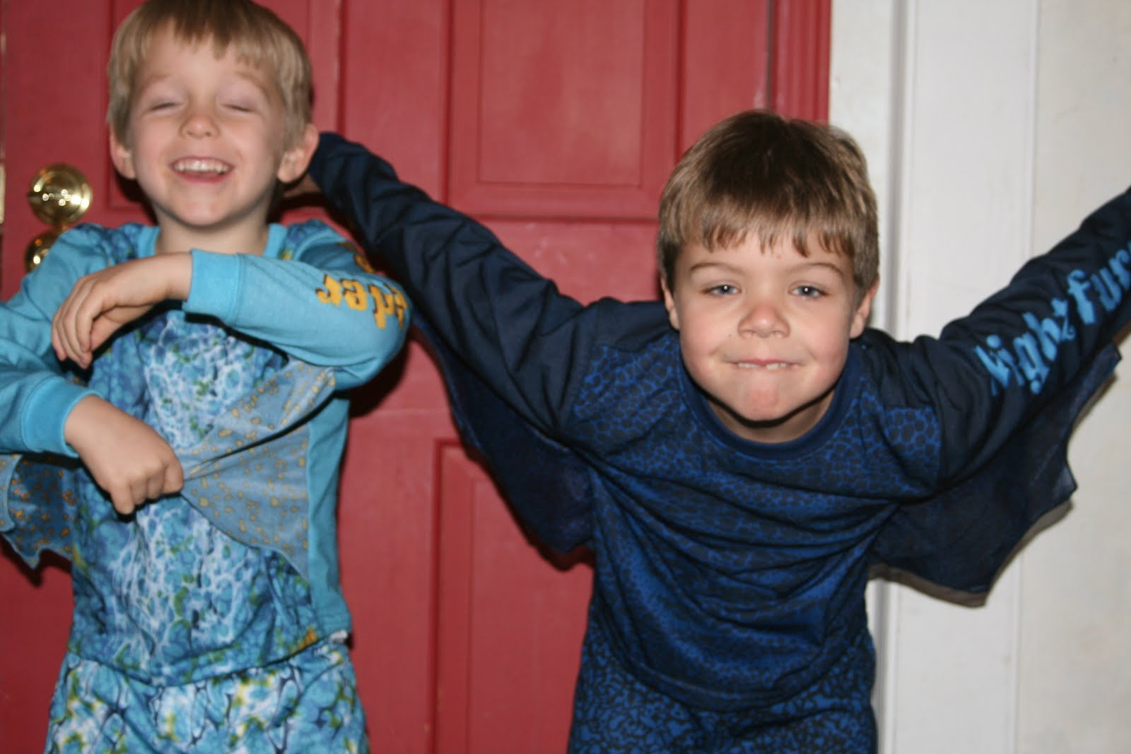 Aaron and aidens mom gram and grandpa always gives us all pjs on christmas eve this year the boys pajamas were how to train your dragon themed they loved them ccuart Image collections