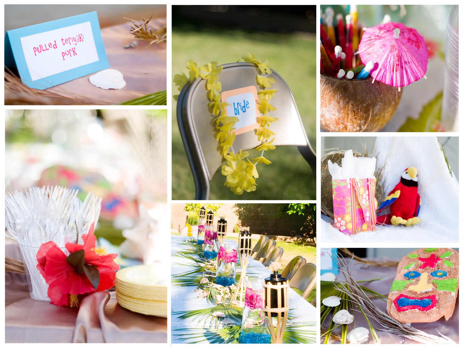 Phoenix Event Planning: Luau Bridal Shower