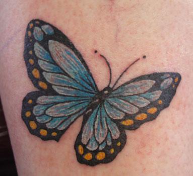 tiger butterfly tattoo. Butterfly Tattoo on Wrist