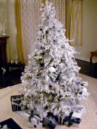 Navidad como decorar tu arbol de navidad este 2010 - Decorar arbol de navidad blanco ...