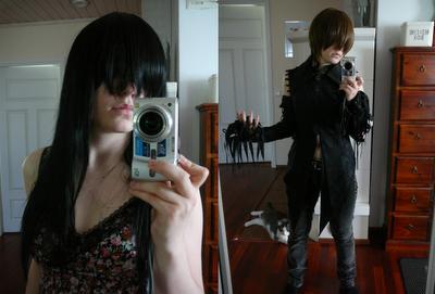 Ihkuja peilikuvia.