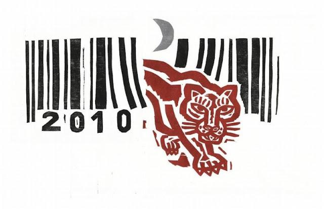 Feliz año 2010, año del tigre blanco